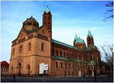 (1030-1061 A.D) Cathedral of Speyer, Germany back View