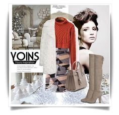 """YOINS"" by elly-852 ❤ liked on Polyvore featuring Angelo, Topshop and Yves Saint Laurent"