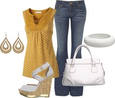 """""""Casual"""" by mhuffman1282 on Polyvore"""