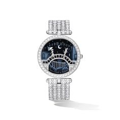 Poetic Complications Collection, Lady Arpels Pont des Amoureux Watch.