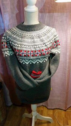 Christmas Sweaters, Knitting, Sweatshirts, Fashion, Moda, Tricot, Fashion Styles, Christmas Jumper Dress, Breien