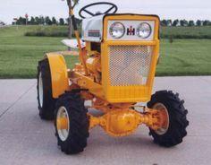 International IH Cub Cadet by The Silver Spade American Yard Tractors, Small Tractors, Tractor Mower, John Deere Tractors, Compact Tractors, Crawler Tractor, Antique Tractors, Vintage Tractors, Cub Cadet Tractors