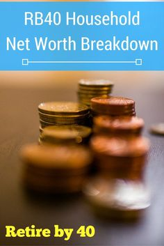 Have you checked your net worth lately? What kind of assets do you have in your net worth? A large portion of our net worth is in stocks and real estate. via @retireby40