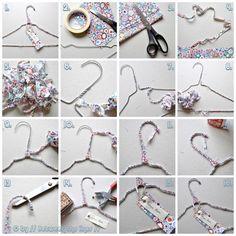 Clothes hanger DIY
