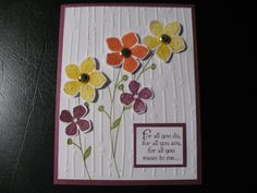 A Dimentional Friendship or Special Meaning Card. $3.00, via Etsy.