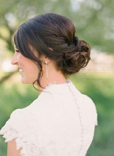 Hair and Make-up by Steph - loose updo with braid