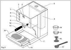 Rancilio Silvia component diagram