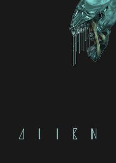 Alien! Art Print