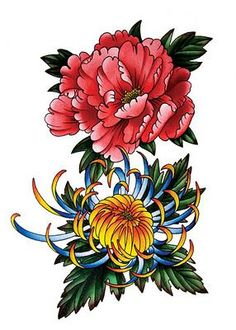 japanese flower tattoo - Google Search … | Tattoo ideas | Pinte…