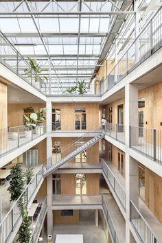 H Arquitectes & DataAE - Environmental & paleontology research building