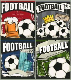 Football Retro Banners