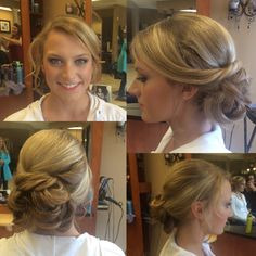 Hair and makeup done by Liz. #salonamissa