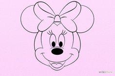 Bildtitel Draw Minnie Mouse Step 8