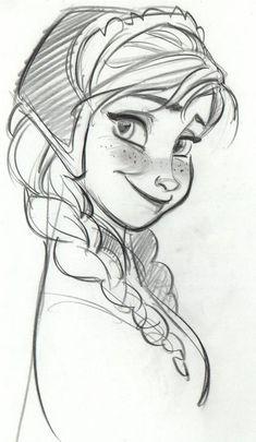 Princesse Anna du film La reine des neiges