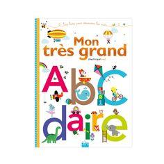 Livre Mon très grand abcdaire pour enfant de 1 an à 3 ans - Oxybul éveil et jeux