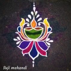 Explore latest easy rangoli design image ideas collection for Diwali. Here are amazing simple rangoli designs to decorate your home this festive season. Easy Rangoli Designs Diwali, Indian Rangoli Designs, Simple Rangoli Designs Images, Rangoli Designs Latest, Rangoli Designs Flower, Rangoli Border Designs, Small Rangoli Design, Rangoli Ideas, Rangoli Designs With Dots
