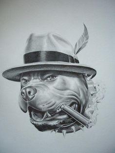 gangster-dog-jorge-hernandez.jpg (675×900)