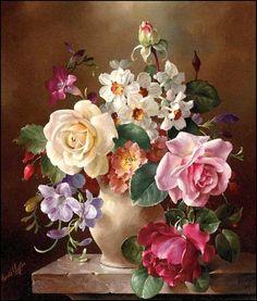 Les fleurs par les grands peintres (23)