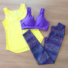 Love a good running outfit | Workout Clothes for Women | Gym Clothes | Yoga Wear and more http://www.FitnessApparelExpress.com