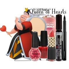 Queen of Hearts - Get the Look, created by lalakay on Polyvore