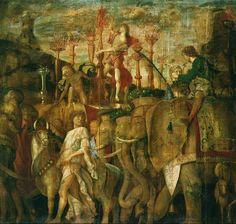 (Detail from) Triumph of Caesar, Andrea Mantegna, 1494.
