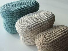 Crochet Storage Bins