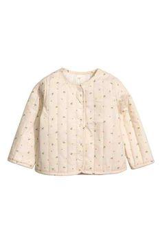Prešívaná bavlnená bunda
