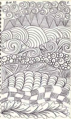 Quilting Designs.....from My Sketch Book (LuAnn Kessi)