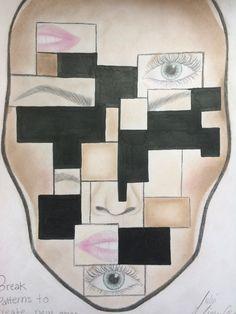 Ansiktskort ''Break Patterns To Create New Ones''