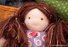 a sweet little waldorf doll named Molly