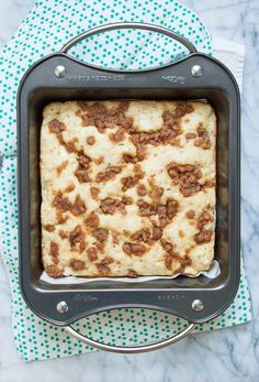 Recipe: Apple Streusel Pancake Bars
