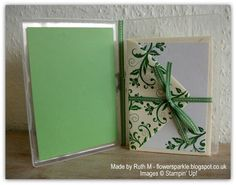 Flower Sparkle: Flowering Flourishes Just Because Card & Set Of Note Cards- Inkspirational Challenge #10