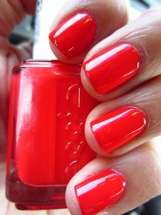 Shorter days call for brighter nails...geranium :)