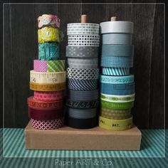 how to organise your Washi tape