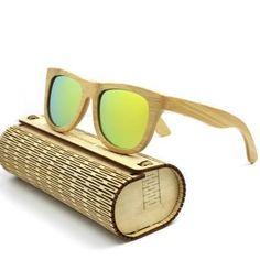 urbanviva Personalized Bamboo Style7 Sunglasses