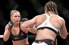 Ronda Rousey Just Defended Her UFC Title By Ending The Fight In 34 Seconds