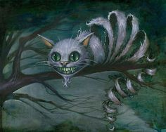 Cheshire Cat  www.kevineslinger.com  signed prints $29.99 [My mom bought me this, signed!]