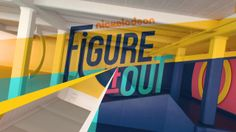 pinterest.com/fra411 #motion #graphic - Nickelodeon - Figure It Out on Vimeo
