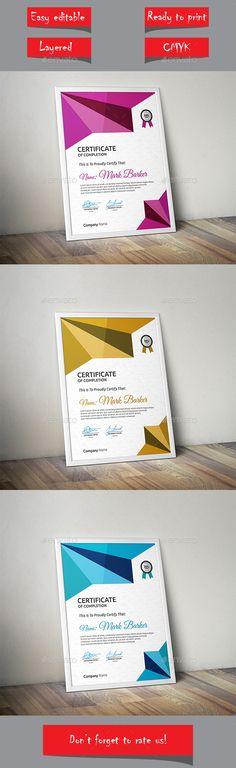 Certificate Template Vector EPS. Download here: http://graphicriver.net/item/certificate/14231454?ref=ksioks