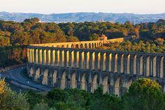 Aqueduto dos Pegões , Tomar, Portugal