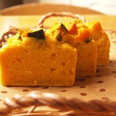 米粉のかぼちゃケーキ