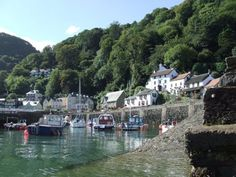 Lynmouth Harbour, N. Beautiful Places In The World, Wonderful Places, Homes England, Rocky Shore, North Devon, Dartmoor, Places Of Interest, British Isles, Jamaica