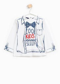 T-shirt in puro cotone con maxi stampa | OVS