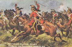 British Cavalry at Waterloo