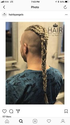 Gorgeous short mens hairstyles shortmenshairstyles is part of Viking hair - Trendy Mens Haircuts, Popular Haircuts, Mens Braids Hairstyles, Cool Hairstyles, Hair And Beard Styles, Short Hair Styles, Viking Haircut, Viking Braids, Easy Hair Cuts