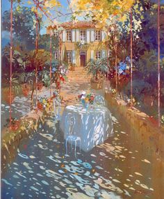 1000 Shades of Color and Beauty Watercolor Landscape, Landscape Paintings, Watercolor Art, Art Paintings, Dappled Light, French Artists, Light Art, Beautiful Paintings, Contemporary Artists