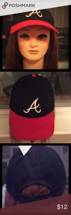 """HTT"" ATLANTA BRAVES BASEBALL CAP NWT MAKE ME AN OFFER, BUNDLE OR ASK ANY QUESTIONS ⚾️🥜🌭🍺⚾️ HEAD TO TOE Accessories Hats"