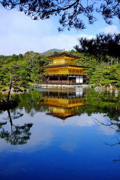 金閣寺、京都/Kinkaku-ji temple, Kyoto, Japan