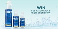 Win a Year's Supply of Footwear Protective Products with GoDRY