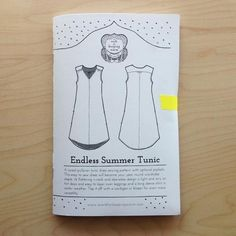 Endless Summer Tunic Pattern-Verb for Keeping Warm-gather here